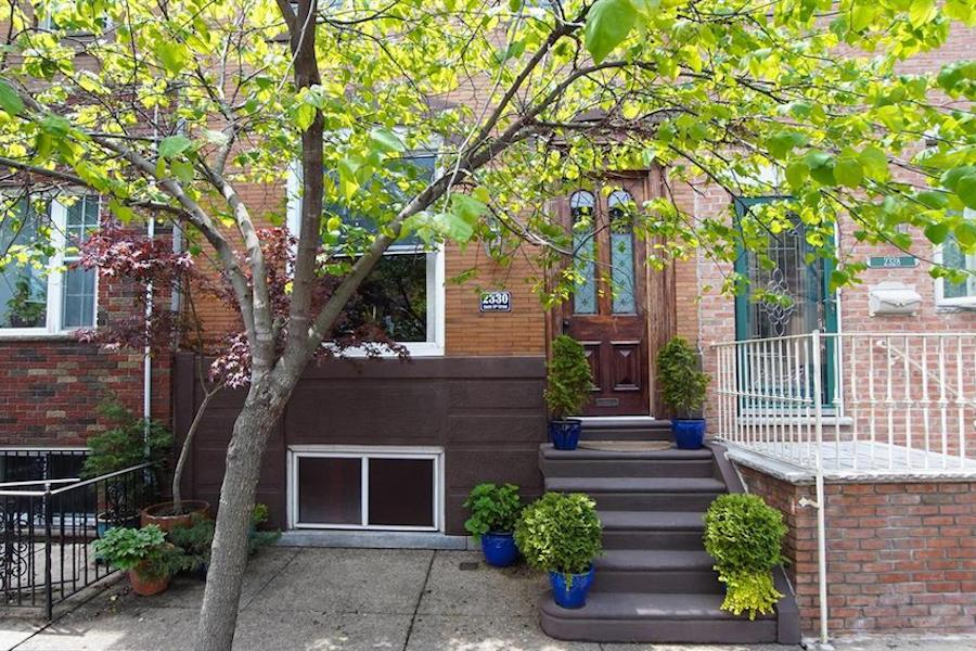 renovated south philly rowhouse for sale exterior front