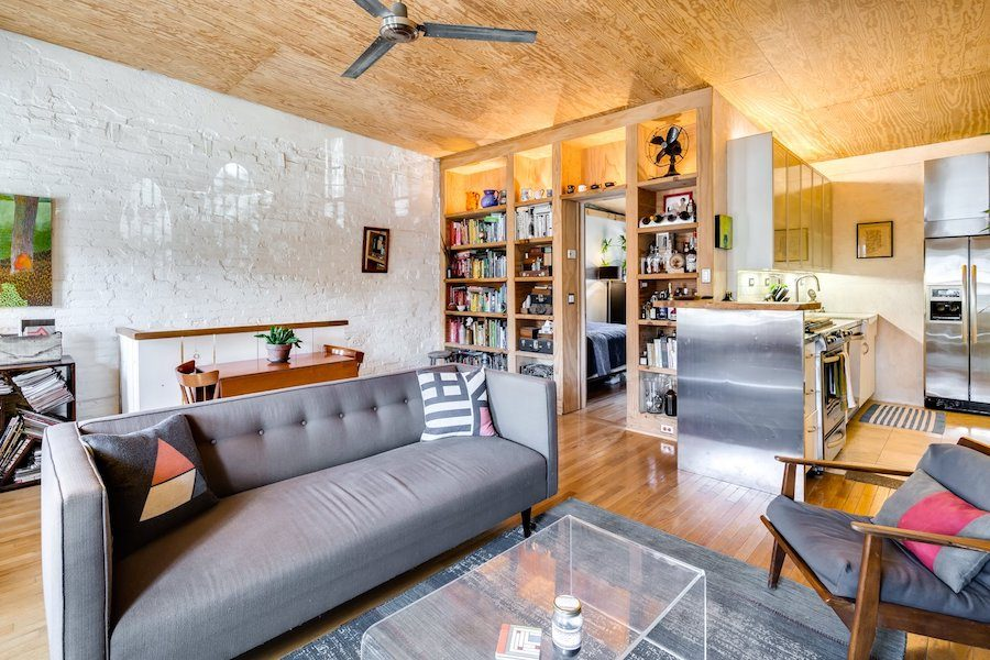 spring garden carriage house for sale main living area