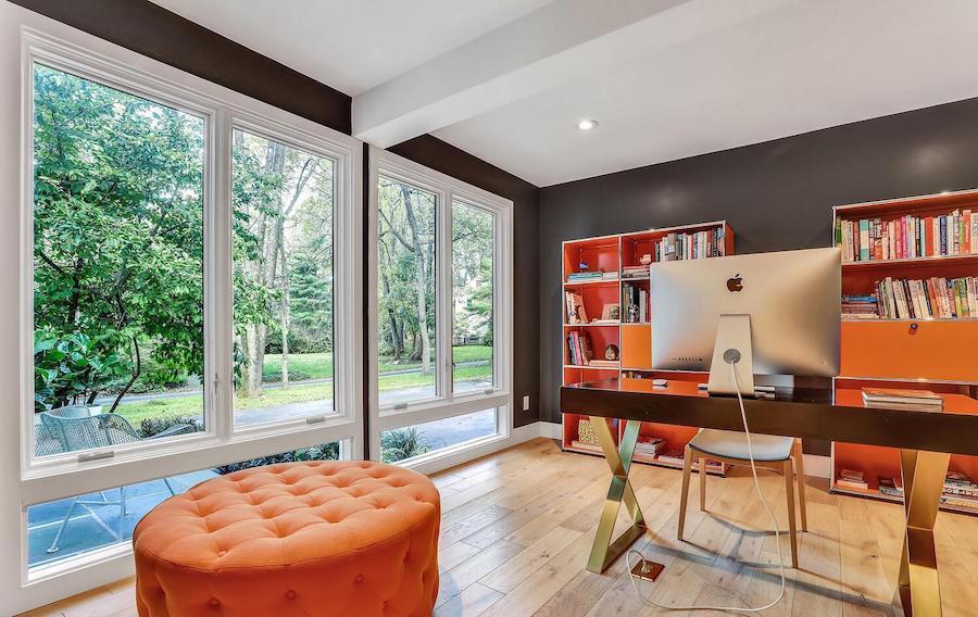 refreshed villanova contemporary house for sale study