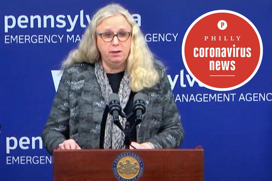 Pennsylvania Health Secretary Rachel Levine, who says we need to stay away from the Jersey Shore beaches that are reopening