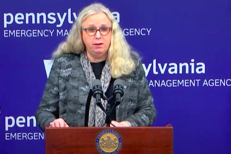 Pennsylvania Health Secretary Rachel Levine, who just responded to some of the transphobia against her