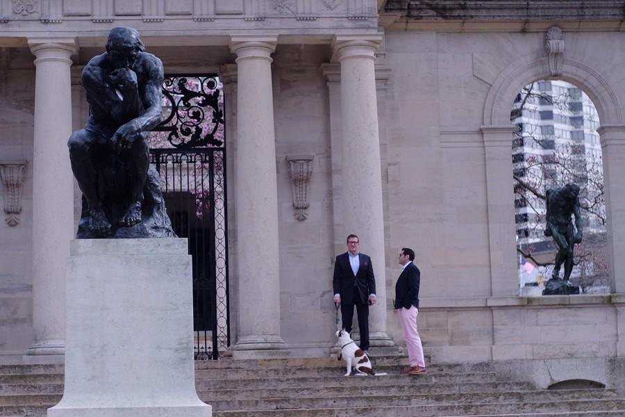 Rodin Museum wedding
