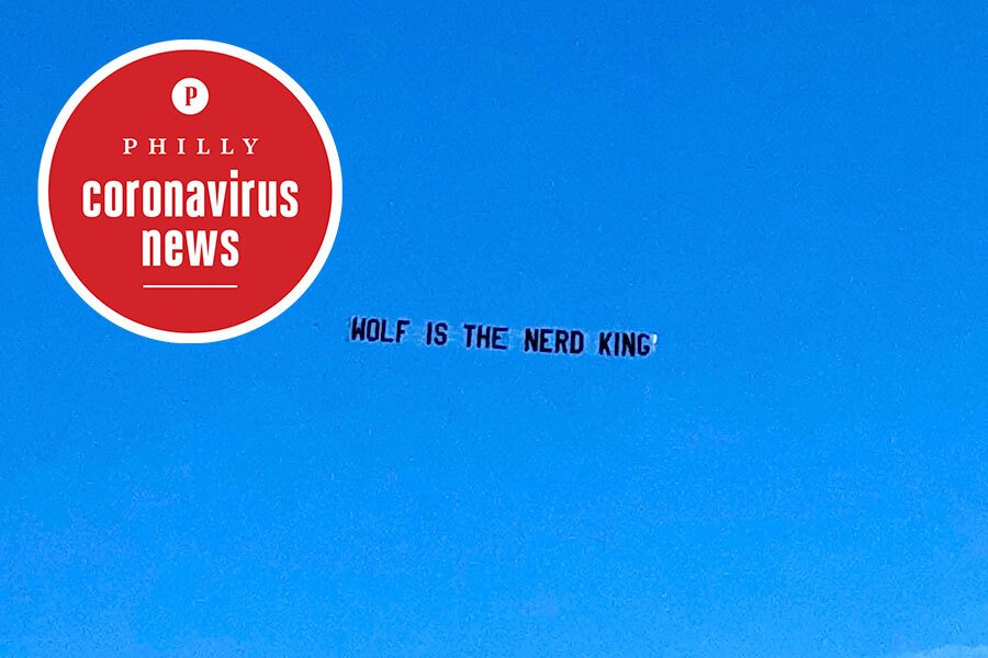 anti-tom wolf aerial advertising at the jersey shore over memorial day weekend