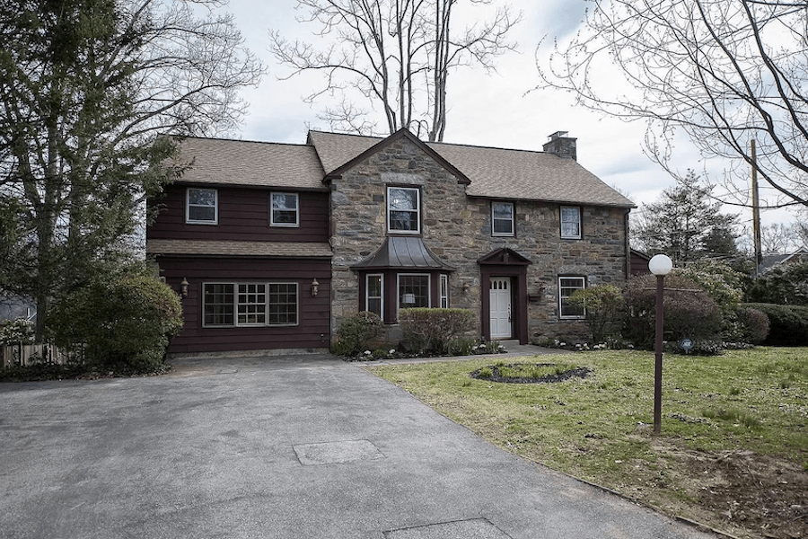 virtual house hunting merion station colonial