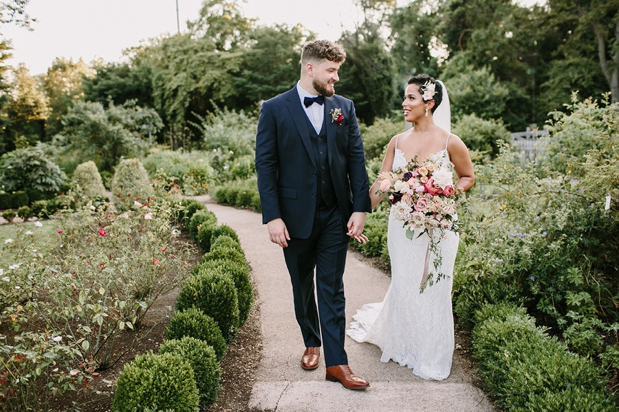Bartram's Garden wedding