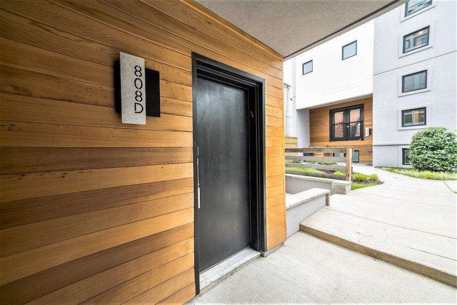 bella vista townhouse condo for sale unit entrance