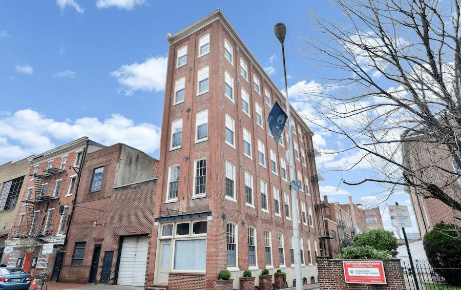 old city loft condo for sale building exterior