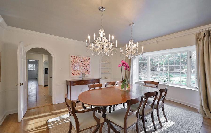 lower gwynedd colonial house for sale dining room