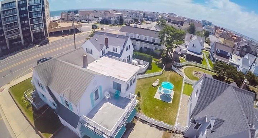 longport cape cod house for sale aerial view