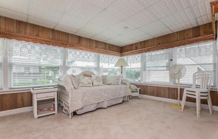 second-floor sunroom