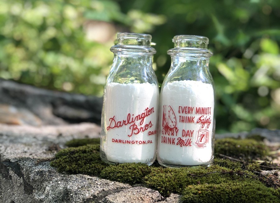 media colonial revival house for sale darlington bros. dairu milk bottles