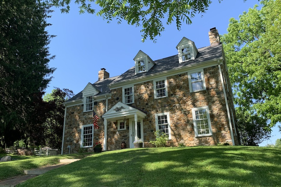 media colonial revival house for sale