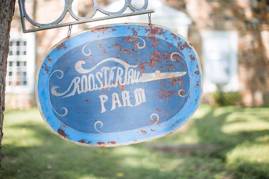 roostertail farm sign
