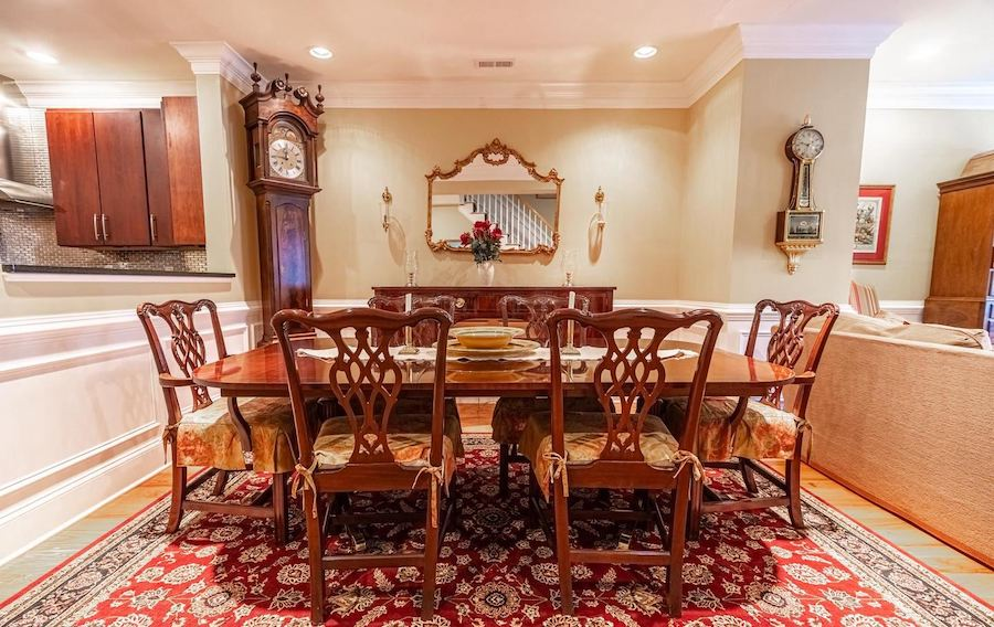 spring garden townhouse for sale dining room