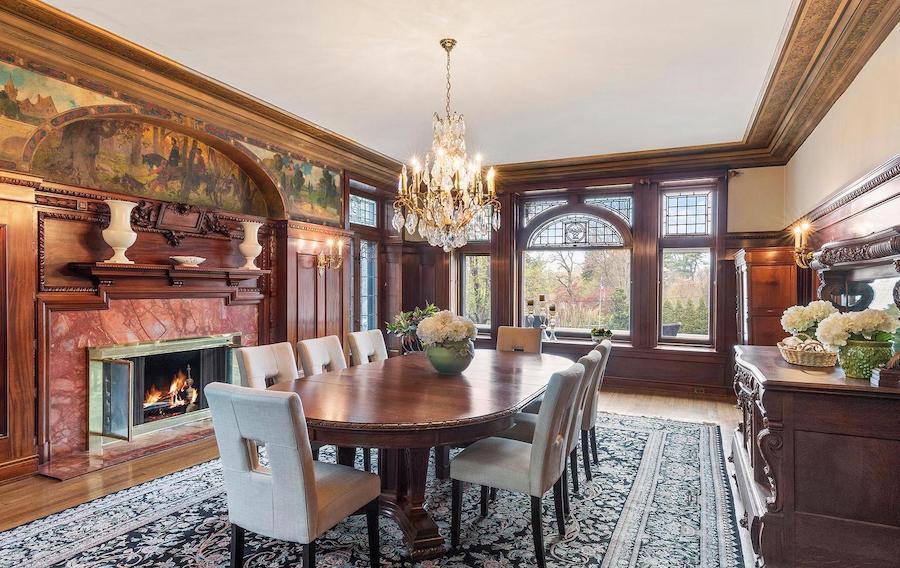 st davids tudor revival house for sale formal dining room