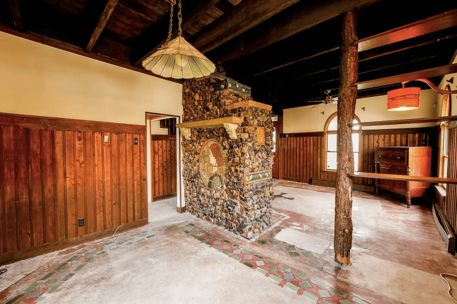 strathmere arts and crafts house for sale dining room