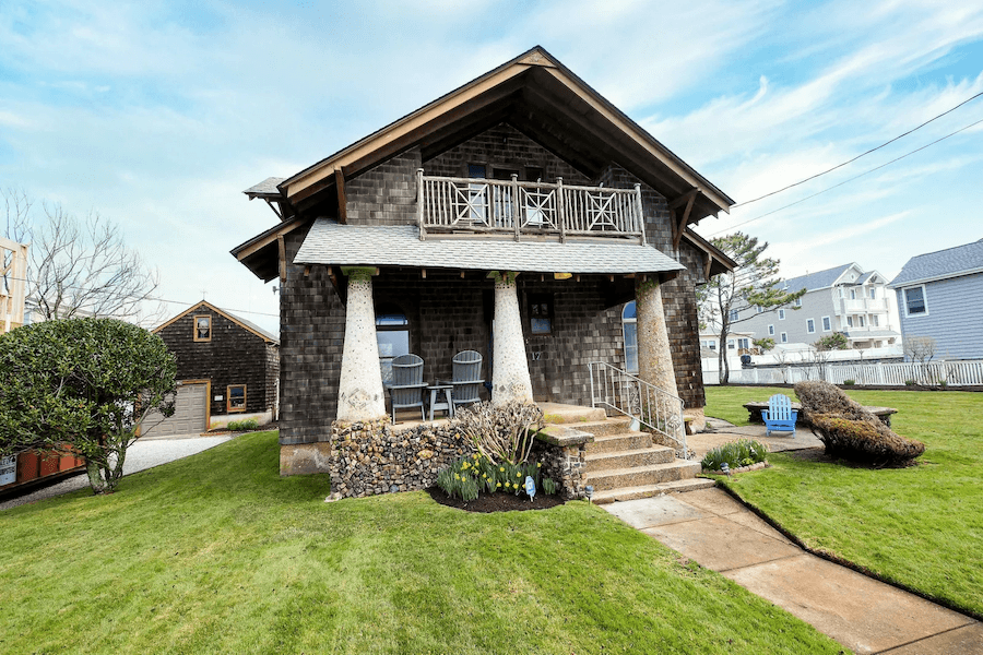 strathmere arts and crafts house for sale exterior front