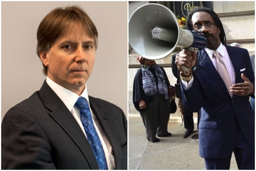 paul hetznecker and michael coard, two of the lawyers involved in the tear gas lawsuit in philadelphia
