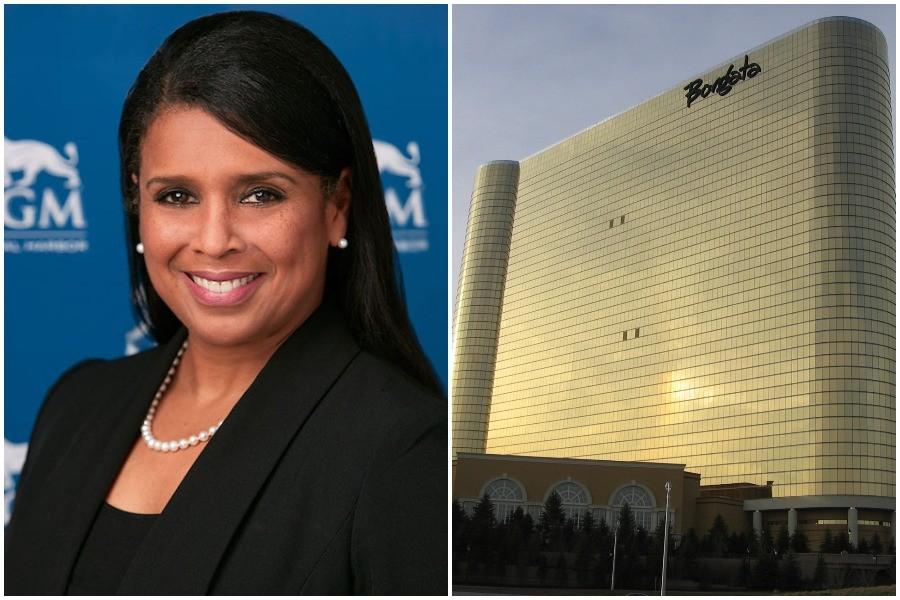 Melonie Johnson, the new CEO of the Borgata Hotel and Casino in Atlantic City, New Jersey