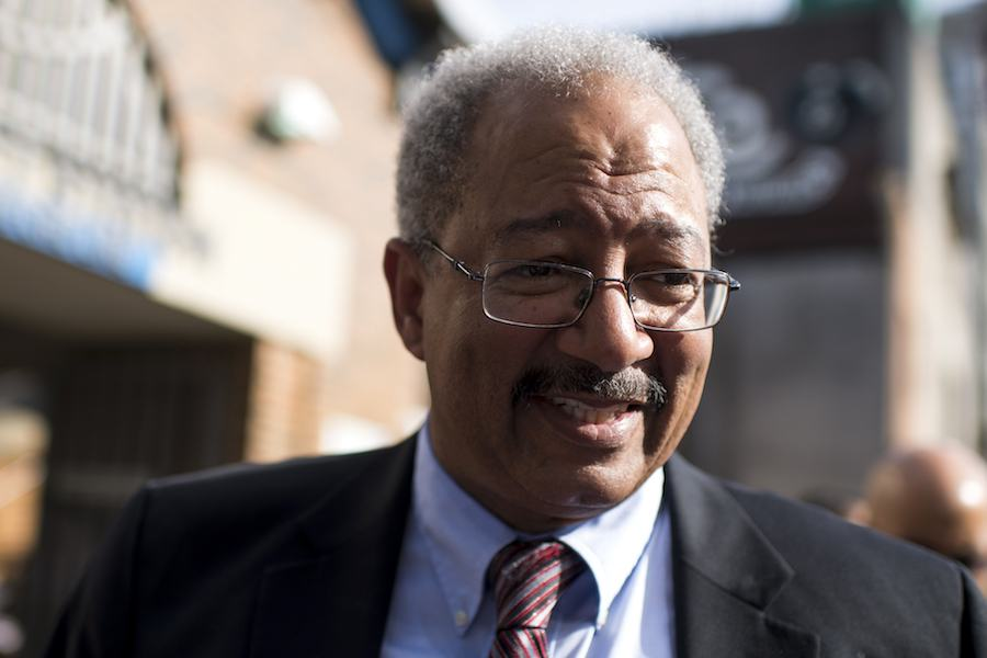 chaka fattah, who has been released from federal prison