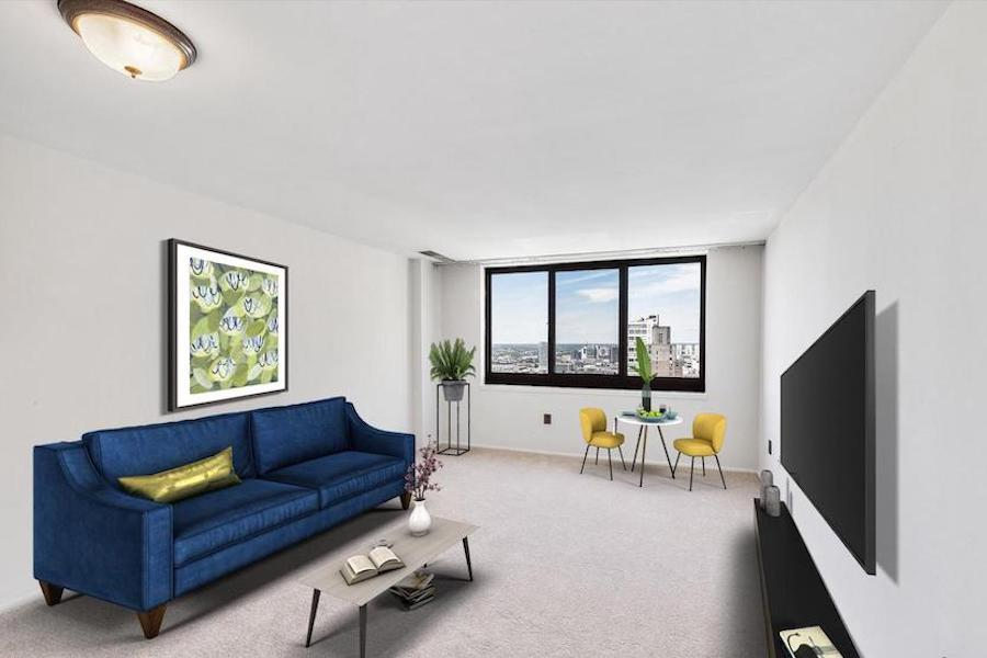 starter academy house condo for sale living room