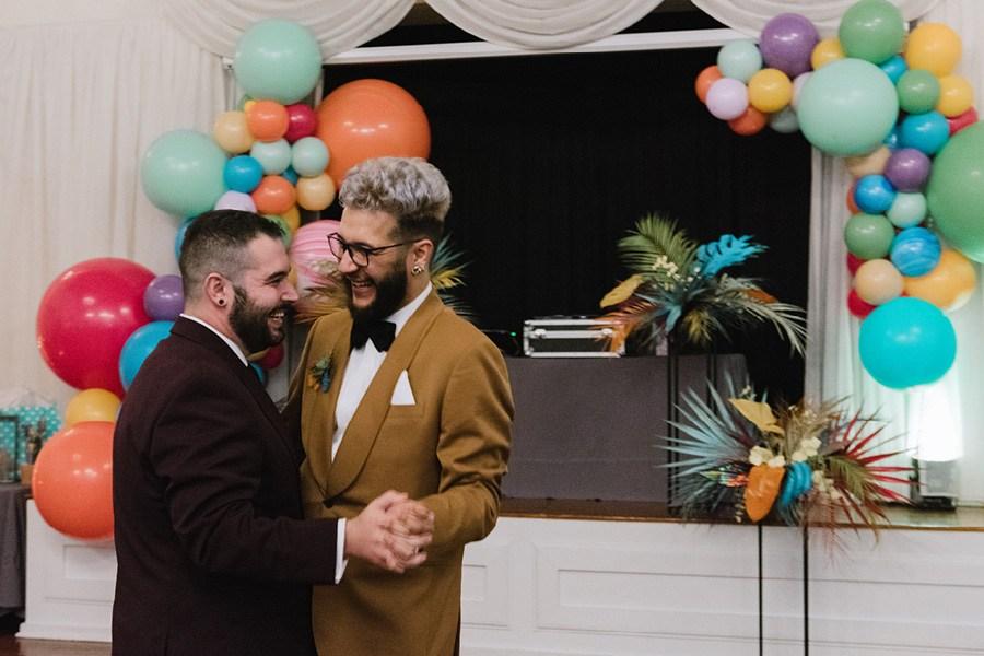 Richmond Hall wedding
