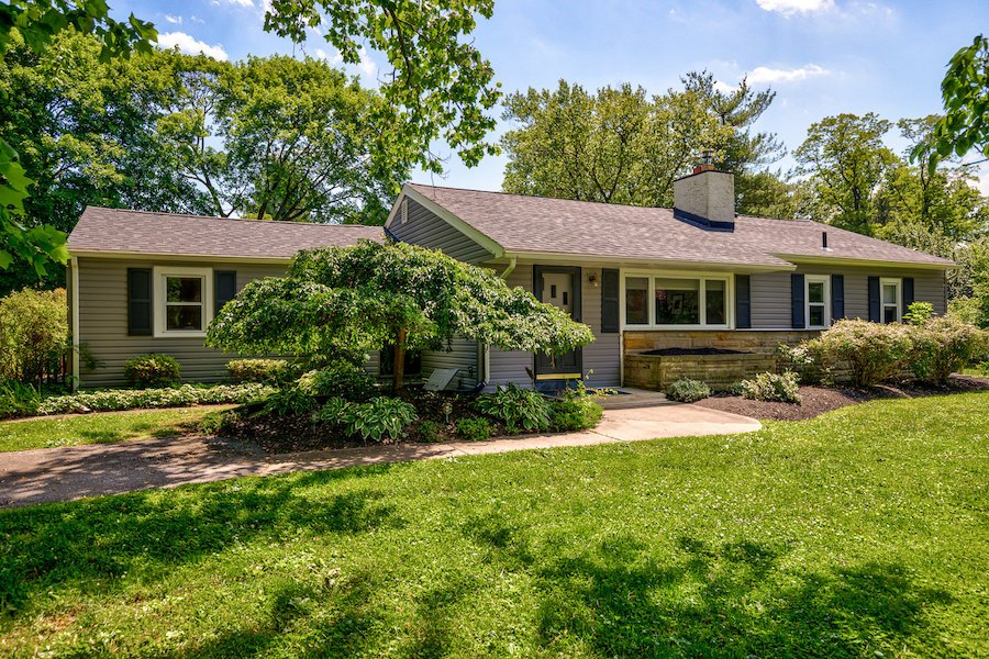 downingtown designer ranch house for sale exterior front