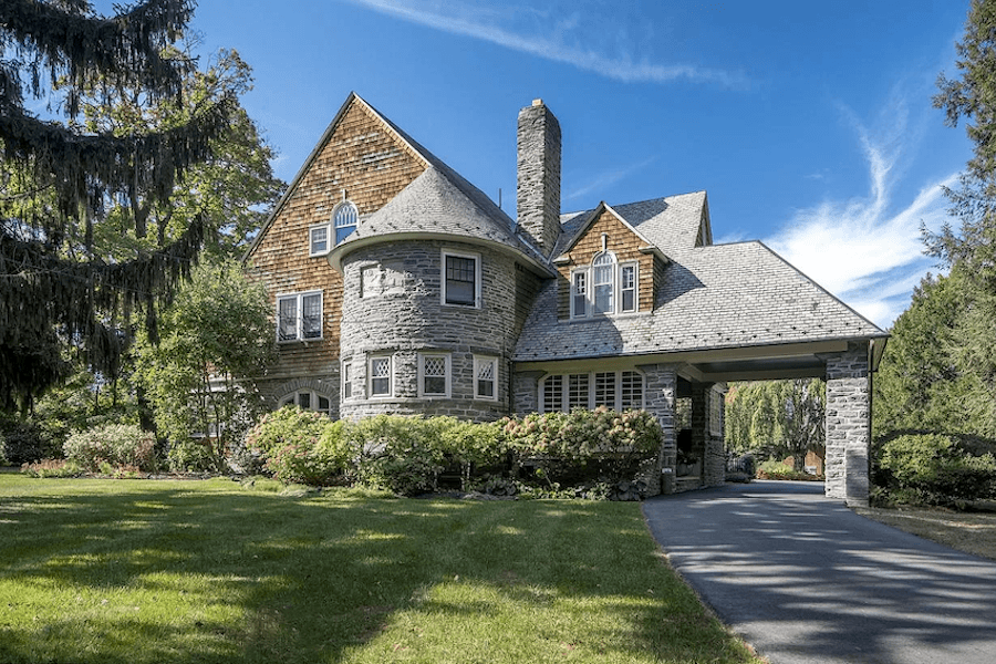 wayne shingle style house for sale exterior front
