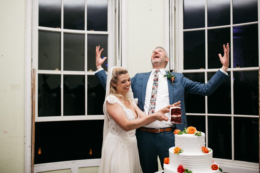 coupe de gâteau