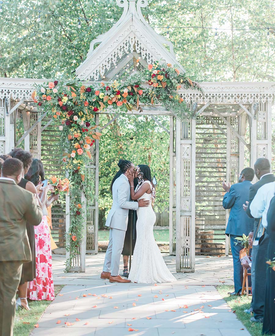 Terrain au mariage de Styer