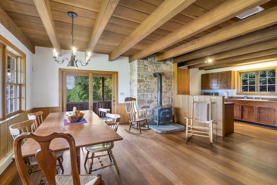 cochranville farmhouse for sale dining room and kitchen