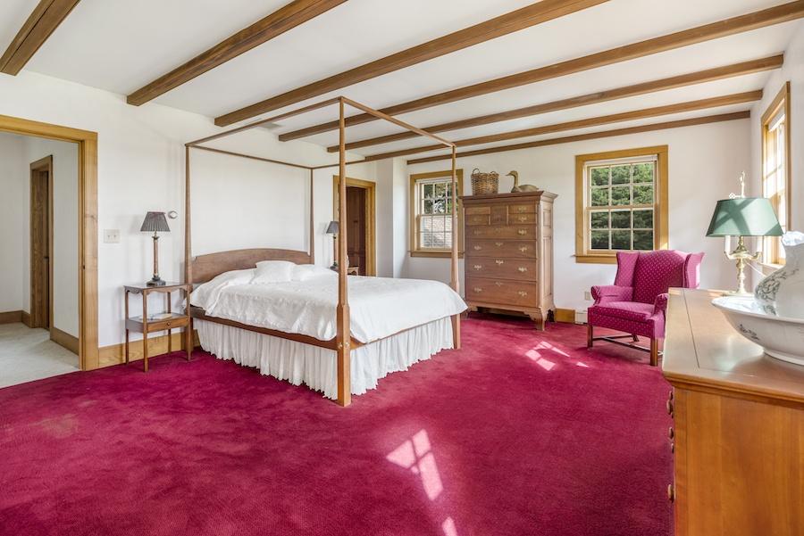 cochranville farmhouse for sale owner's bedroom