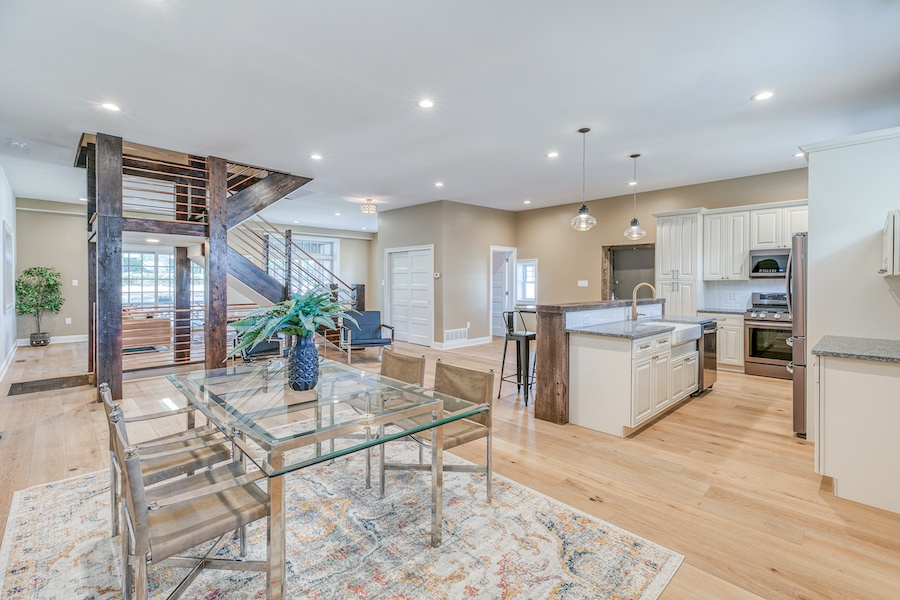 germantown carriage house for sale main floor