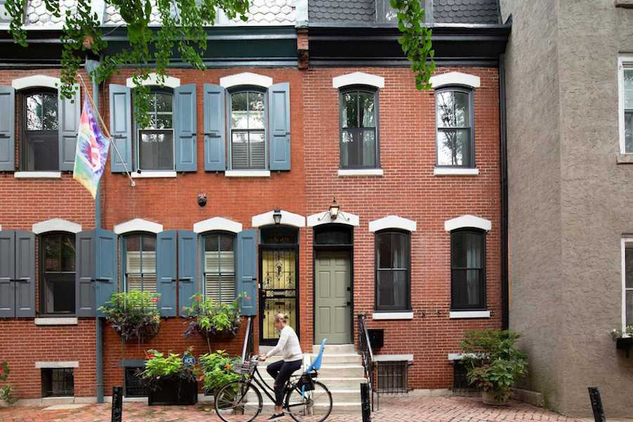 modern logan square victorian house for sale exterior front