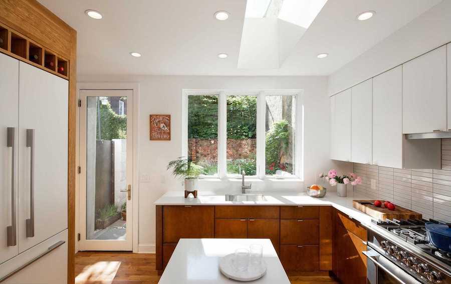 modern logan square victorian house for sale kitchen