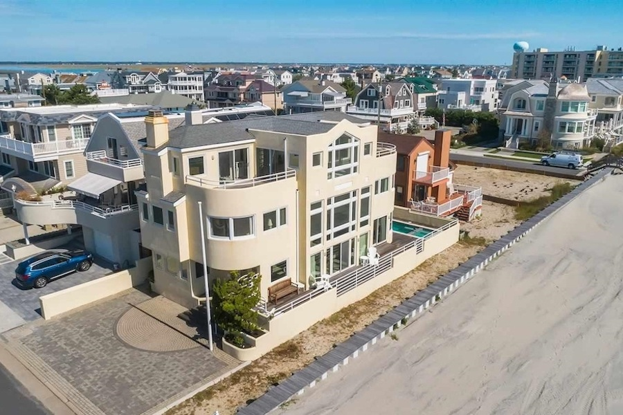 longport contemporary house for sale perspective view