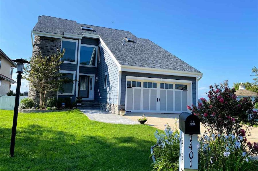 contemporary margate bayfront house for sale exterior front