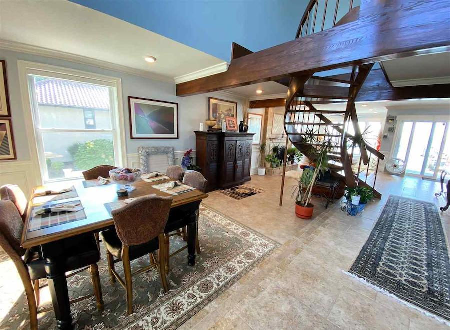 margate contemporary bayfront house for sale main floor