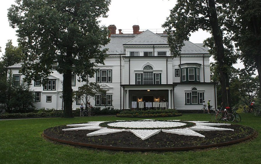 newtown georgian revival house for sale twin oaks
