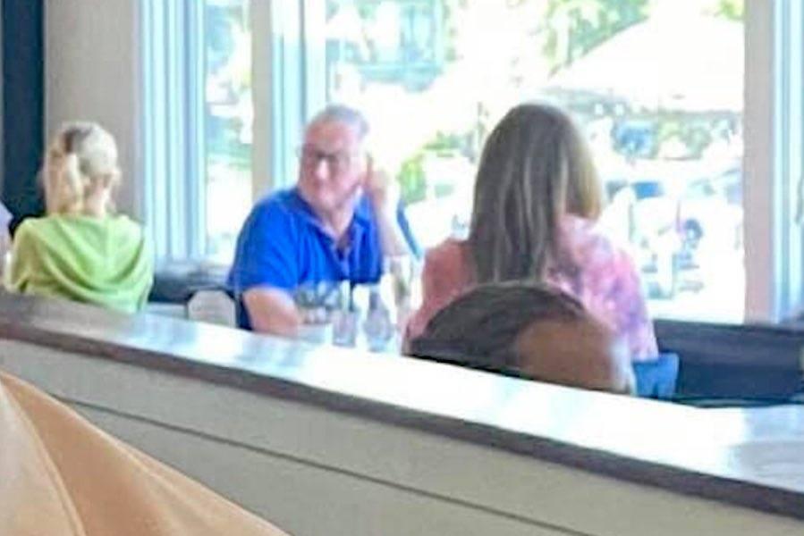 jim kenney enjoys indoor dining in Maryland