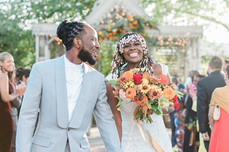 Mariage africain à Philadelphie