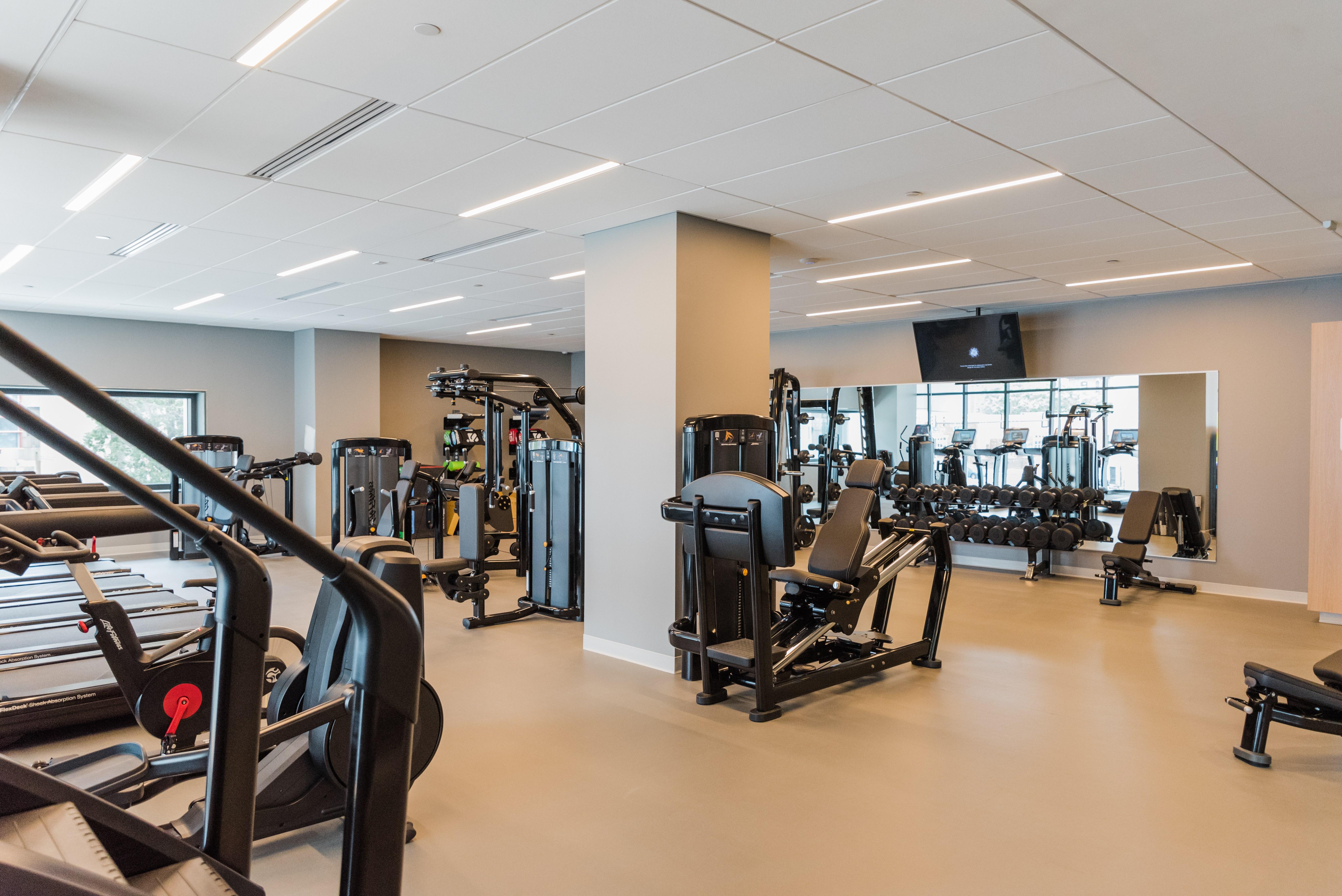 the chestnut apartment profile fitness center
