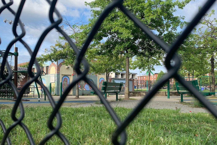 south philadelphia's capitolo playground, the site of Allen Mikell's death