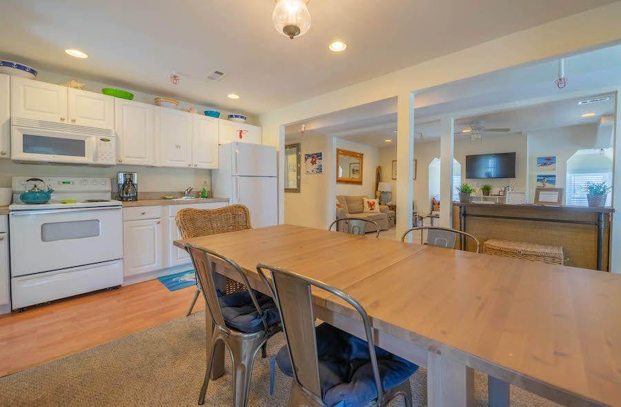 sea isle city victorian condo for sale kitchen and dining