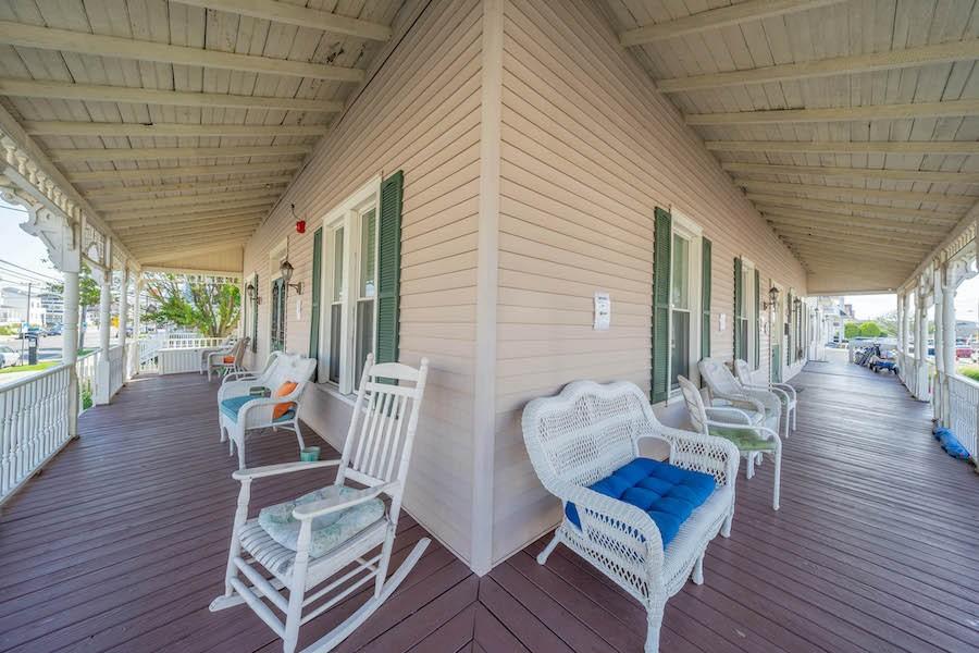 sea isle city victorian condo for sale porch/veranda