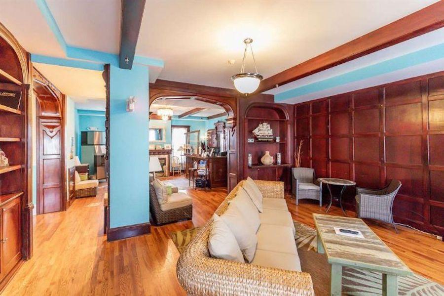sea isle city victorian condo for sale hotel lobby