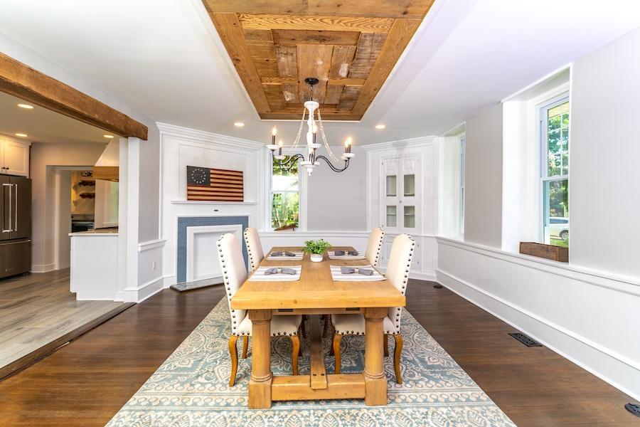 house for sale cinnaminson farm house dining room