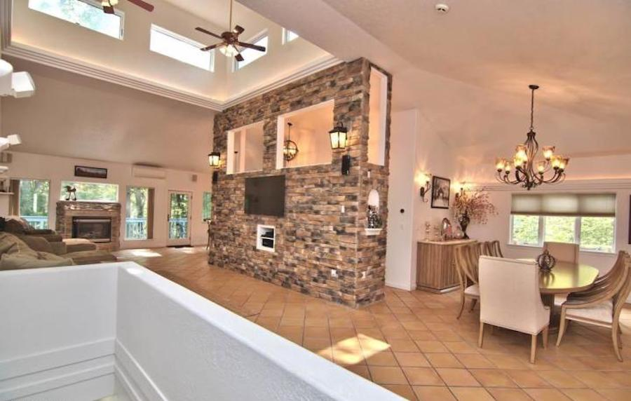 house for sale east stroudsburg contemporary main living area