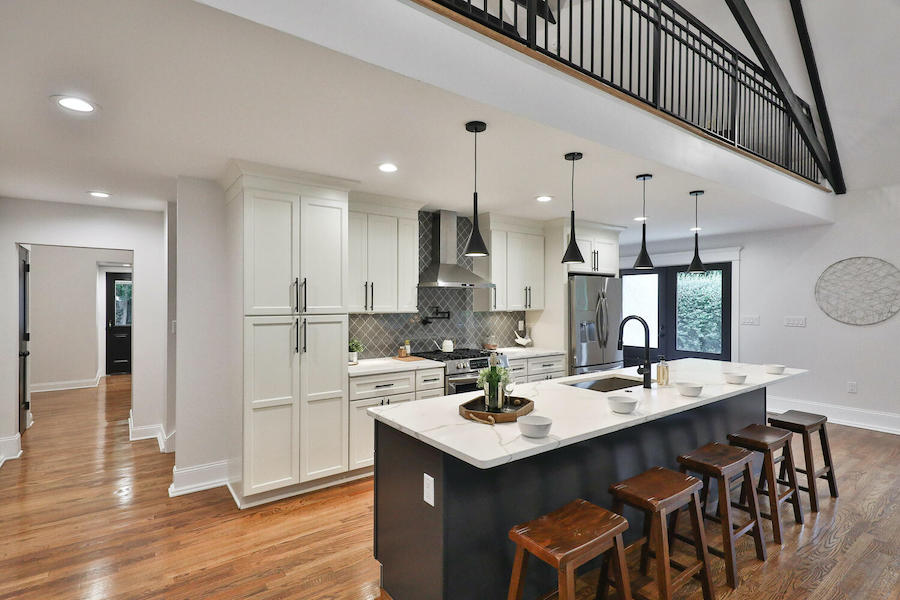 house for sale east falls converted church kitchen