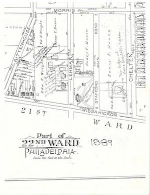 1889 survey map